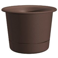 Dynamic Design Westbury Poly Planter with Attached Saucer