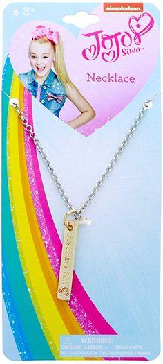 100/% Official JoJo Siwa Girls JoJo Bow and Jewellery Set Childrens Necklace