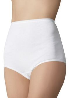 fea445eea2 Vanity Fair Women s Perfectly Yours Briefs - 15318 - Star White - 10 Vanity  Fair