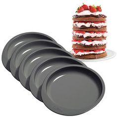 Wilton Easy Layers! 6 in. Cake Pan Set, 5 Pc. 2105-0112
