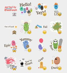 Dumb Ways to Die Stickers Set | Telegram Stickers
