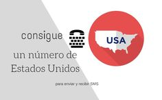 #Comunicación #teléfono #usa Para conseguir un número de teléfono de Estados Unidos y enviar y recibir SMS