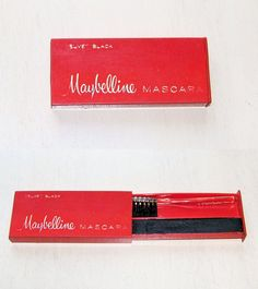 I remember.. Maybelline Cake Mascara, you had to wet it.