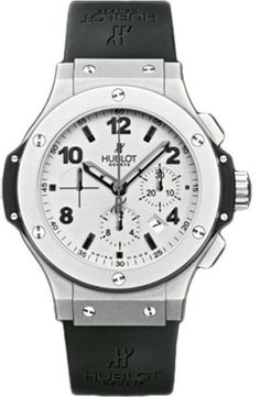 Hublot Big Bang 301.TI.450.RX Platinum & Rubber 44mm Mens Watch