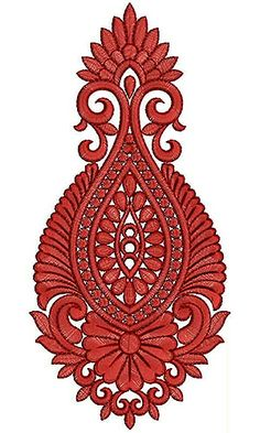 Sari Embroidery Design