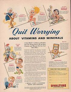 1942 Ovaltine Drink Ad