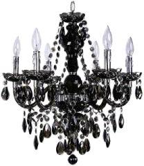 black vintage chandelier
