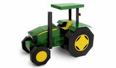 Diviértete Ensamblando tu Tractor de Papel John Deere