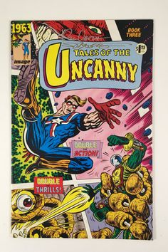 Tales of the Uncanny Comic Book, Signed by Artists, Vintage Image Comics, Comic Book Three, Au You Are My Superhero, Silver Sharpie, Color Of The Week, The Uncanny, Vintage Comic Books, Vintage Images, Vintage Ideas, Retro Vintage, Scary Stories