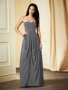 Maid of Honor  Alfred Angelo 7278 L Bridesmaid Dress | Weddington Way