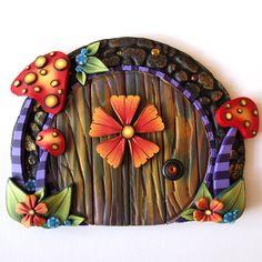 Wild Mushroom Fairy Door Pixie Portal