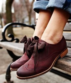 Sebago Claremont Brogue. Not crazy about the bows but love retro shoes. Not too narrow in the toe box though.