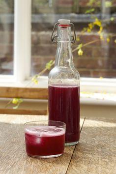 Let's Make Fermented Blackberry Soda! - http://andhereweare.net/2014/04/fermented-blackberry-soda.html