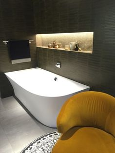 Corner bathtubs do not get any more special than this!