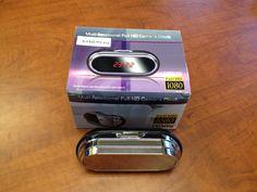 Mini alarm clock with HD pinhole camera