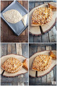 łosoś w cieście francuskim Waffles, Bread, Holidays, Breakfast, Morning Coffee, Holidays Events, Waffle, Breads, Baking