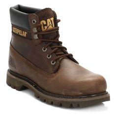 Caterpillar Mens Chocolate Colorado Leather Boots