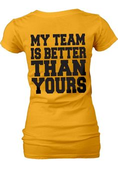Missouri Tigers Womens Gold My Team V-Neck T-Shirt (back)