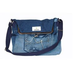 Bag made out of vintage jeans. Cool! Globe Hope´s Spring/Summer 2015 collection. I LIKE IT!