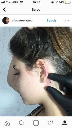 23 ideas doll tattoo ideas flower for 2019 Dream Tattoos, Mini Tattoos, Cute Tattoos, Flower Tattoos, Body Art Tattoos, Small Tattoos, Tatoos, Bird Silhouette Tattoos, Om Tattoo Design