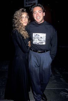 Sarah Jessica Parker and Robert Downey, Jr.