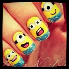 Dispicable me nails