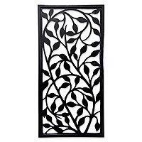 Wood wall panel, 'Midnight Foliage' Laser Cut Panels, Laser Cut Wood, Islamic Art Pattern, Pattern Art, Metal Wall Art, Wood Art, Wood Wall Texture, Motif Arabesque, Jaali Design