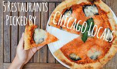 5 Restaurants Picked by Chicago Locals l Best Chicago Restaurants l How To Eat Like A Chicago Local