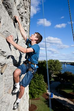 Rock climbing is one of the many adventures offered to those attending the River Rocks Festival in Chattanooga.