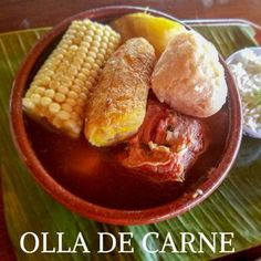 Costa Rica With Kids, Living In Costa Rica, Costa Rican Food, Carne, Costa Rica Travel, Tasty Dishes, Stew, The Best, Food And Drink