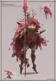 ArtStation - Heroes - Ancient Civilization Charater Designs, Jason Nguyen