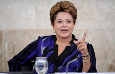 """""""I hope the fathers and mothers of little girls will look at them and say 'yes, women can.'"""" --Dilma Rousseff, First woman to be elected President of Brazil."""