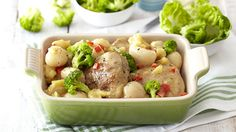 Use the fresh fruit flavours of pineapple and litchis to make this sweet and spicy chicken dish. Champion Chicken, Sweet And Spicy Chicken, Hawaiian Chicken, Dinner Tonight, The Fresh, Fresh Fruit, Potato Salad, Pineapple, Chicken Recipes