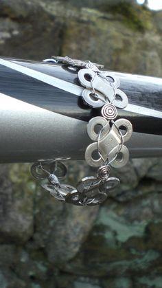 Bicycle Jewelry  Chain Link bracelet. $25.00, via Etsy.