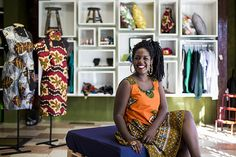 Ana Paula Xongani abriu uma loja em 2010 de roupas e acessórios com estampas afro-brasileiras