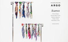 Campanie Esarfe Oil on Canvas I Silk on Skin by Andreea Buga
