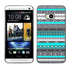 For HTC One M7 Case , Pattern Teal Blue Native American - Colorful Pattern Hard Back Snap-On Cover Case Skin Mobile Phone Shell Bumper Hypernova http://www.amazon.com/dp/B00X24P074/ref=cm_sw_r_pi_dp_-ncnwb1M1PEK8