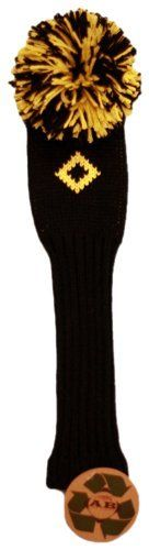 AB Golf Designs Throwback Collection Knitted Utility Head Cover (Black/Yellow) by AB. $17.19. Save 22% Off!