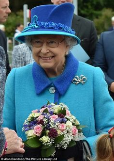 Queen Elizabeth II. September 9th 2015. Scotland  day she officially became the longest reigning monarch.