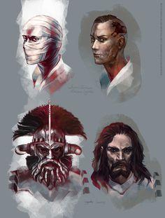 Joshua Graham and Legate Lanius- Fallout: New Vegas