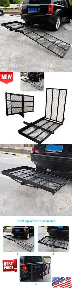 Access Ramps: Mobility Carrier Wheelchair Scooter Rack Disability Medical Ramp Hitch Mount @K@ BUY IT NOW ONLY: $105.95