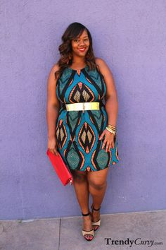 Haute Curves for LA Fashion Week: Outfit of the... | Trendy Curvy | Plus Size Fashion & Style Blog