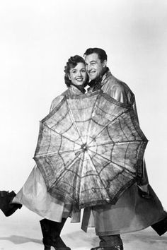 gene KELLY debbie REYNOLDS SINGIN' IN THE RAIN movie still poster 24X36 - RW0