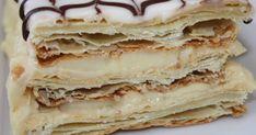Classic French Napoleons Recipe on Yummly. British Desserts, French Desserts, Köstliche Desserts, Delicious Desserts, Dessert Recipes, Yummy Food, Plated Desserts, French Recipes, French Food