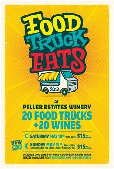 Food Truck Eats at Peller Estates Winery, May 18 & 19, 2013
