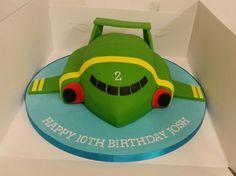 Thunderbirds Birthday Cake