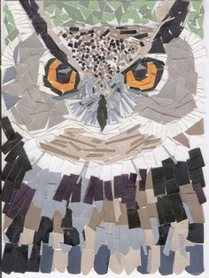 Owl_mosaic_by_sunflowersky34.jpg 600×797 Pixel