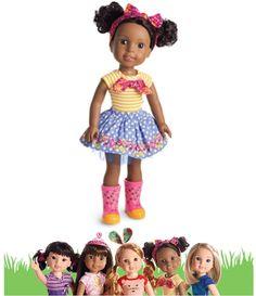 """**NEW** American Girl Wellie Wishers Kendall 14.5"""" Doll #AmericanGirl #Dolls"""