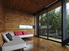 CASA VICTOR A Frame House, House Design, Windows, Room, Furniture, Home Decor, A Frame Homes, Steel Frame Homes, Container Houses