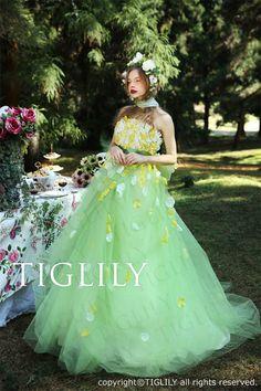 TIGLILYカラードレス(c159) ソフィア